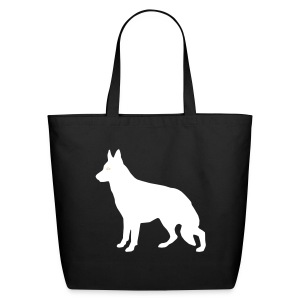 GSD black/white Canvas Tote - Eco-Friendly Cotton Tote