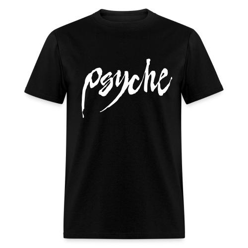 Psyche Classic T with Flock Logo - Men's T-Shirt