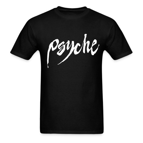 Psyche Classic T with Flock Logo - Men's T-Shirt