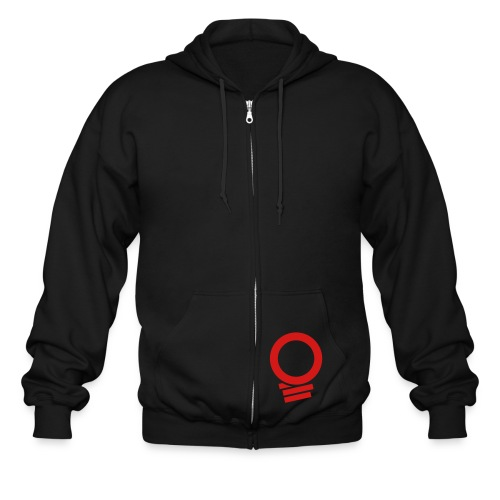 Nightlight Red Light District Hoodie - Men's Zip Hoodie