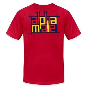 ALPHA MALE T-SHIRT - Men's Fine Jersey T-Shirt