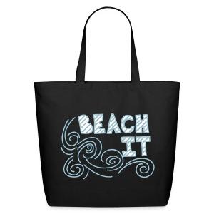 BEACH IT BEACH BAG - Eco-Friendly Cotton Tote