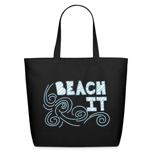 BEACH IT BEACH BAG - Eco-Friendly Cotton Tote