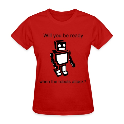 Women's Robot t-shirt - Women's T-Shirt