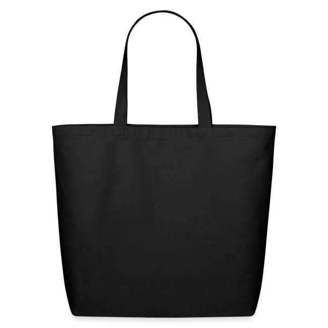 Black Tote with Gold Heart