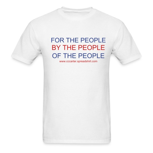 For the People - Men's T-Shirt