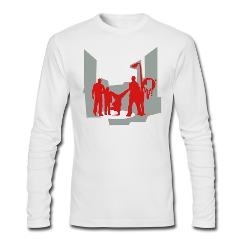 street players - Men's Long Sleeve T-Shirt by Next Level
