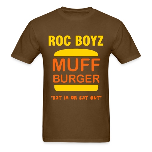 ROC BOYZ BURGER - Men's T-Shirt