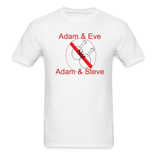 Adam & Eve - Men's T-Shirt