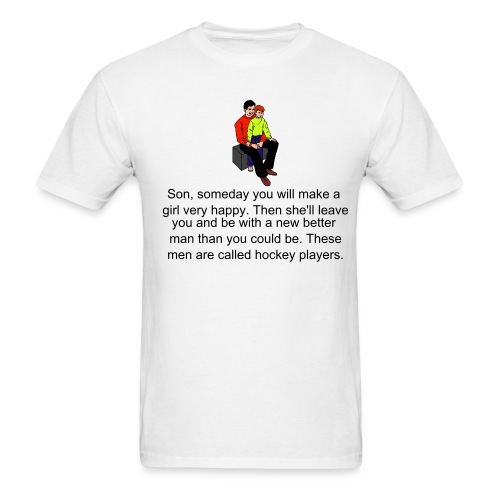 Hockey Players - Men's T-Shirt