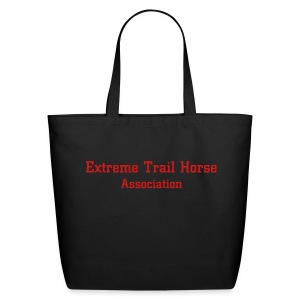 Extreme Trail Horse Groom Tote - Eco-Friendly Cotton Tote