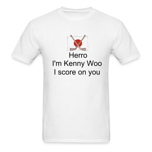 Kenny Woo Front & Back - Men's T-Shirt