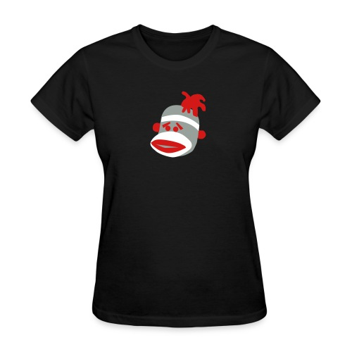 Sock Monkey T-Shirt - Women's T-Shirt