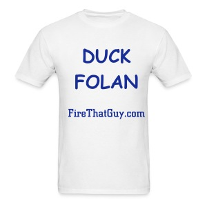 DUCK FOLAN - Men's T-Shirt