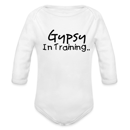 Gypsy Baby One size - Organic Long Sleeve Baby Bodysuit