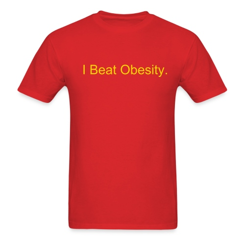 Obesity - Men's T-Shirt