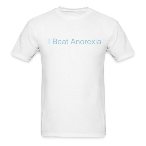 Anorexia - Men's T-Shirt