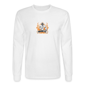 Men's Long Sleeve T-Shirt - Show your attitude! And tell them to Bring it! This shirt is made for more than just your afternoon on the field. It's a statement of its own! If it is football in the cold with your friends you want, or just to show the style and attitude you have. Bring I!. Show everyone you mean business! Intimidation is a key. Show your attitude! And tell them to Bring it