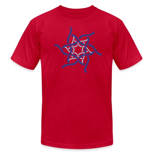 Abstract Spiral 3 - Men's Fine Jersey T-Shirt