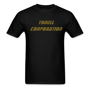 TYRELL CORPORATION T-Shirt - Metallic Text - Men's T-Shirt