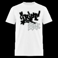 T-Shirts ~ Men's T-Shirt ~ Drift Japan Bomb White T-Shirt