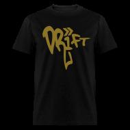 T-Shirts ~ Men's T-Shirt ~ Drift Street Pop Gold Black T-Shirt