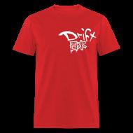 T-Shirts ~ Men's T-Shirt ~ Drift Japan Grunge Red T-Shirt