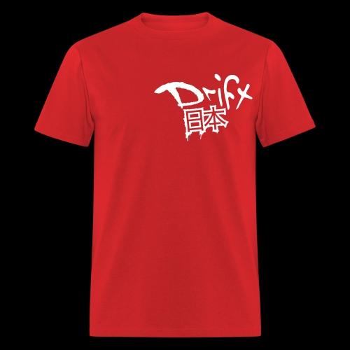 Drift Japan Grunge Red T-Shirt - Men's T-Shirt
