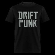 T-Shirts ~ Men's T-Shirt ~ Drift Punk Black T-Shirt