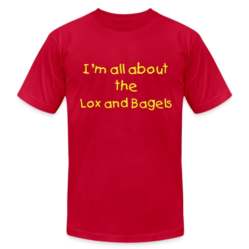 Lox and Bagels - Men's Fine Jersey T-Shirt