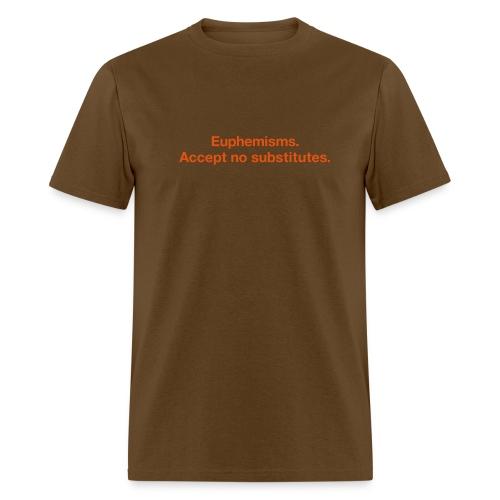 Euphemisms - Men's T-Shirt