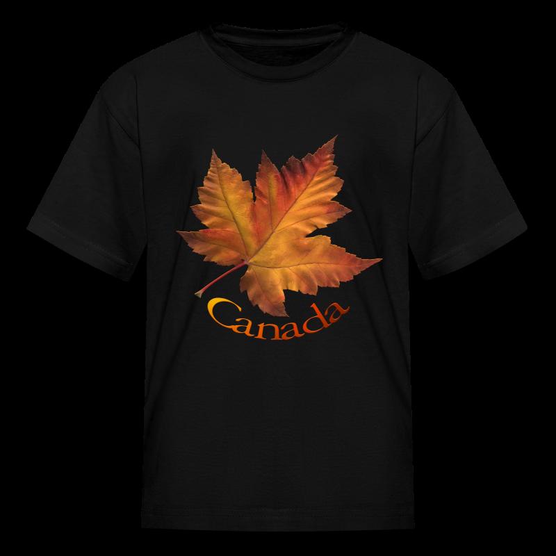 Kid's Canada Souvenir T-shirt Classic Canada Maple Leaf Shirt - Kids' T-Shirt