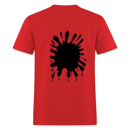 Splater - Lightweight Cotton T-Shirt - Men's T-Shirt