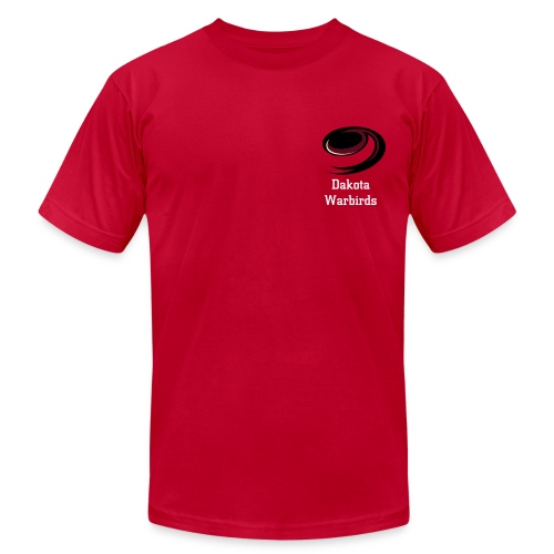 Dakota Warbirds Red Tee - Men's  Jersey T-Shirt