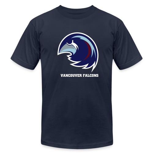 Vancouver Falcons Blue Tee - Men's Jersey T-Shirt