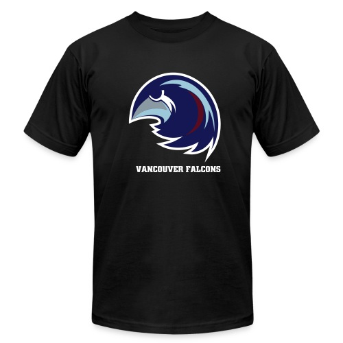 Vancouver Falcons Black Tee - Men's  Jersey T-Shirt
