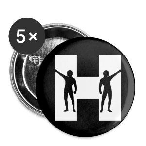 The Horrorist 1 Rock Button - Small Buttons