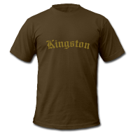 T-Shirts ~ Men's T-Shirt by American Apparel ~ Kingston Shirt