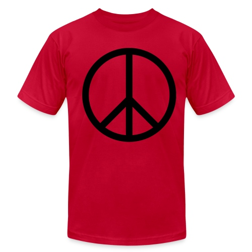 NEW! Peace (Red Boys) - Men's Fine Jersey T-Shirt
