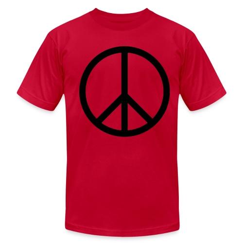 NEW! Peace (Boys Brown) - Men's Fine Jersey T-Shirt