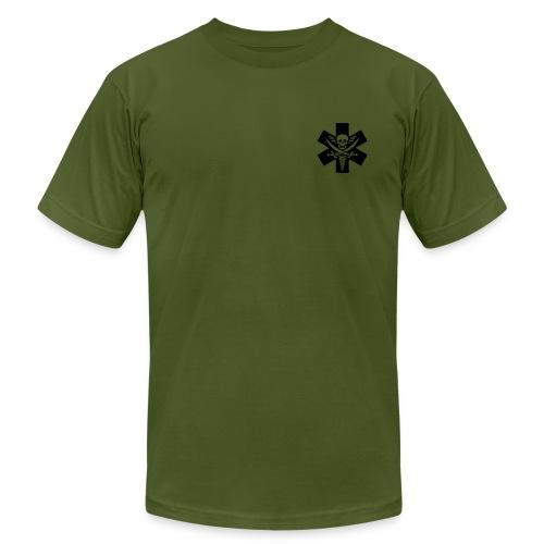 SYHJ Olive - Men's Fine Jersey T-Shirt
