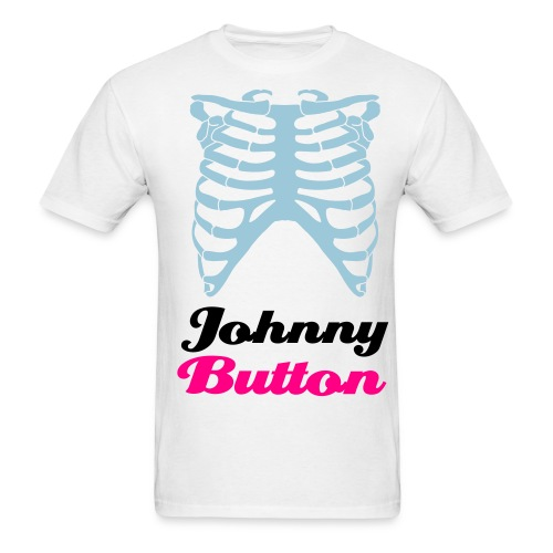 Johnny Button Ribcage T - Men's T-Shirt