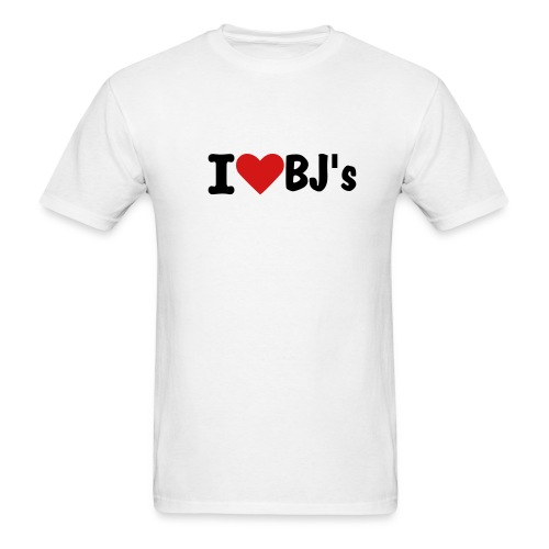 I heart BJ's - Men's T-Shirt