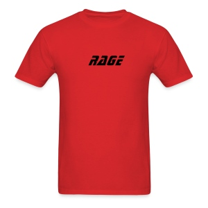 RAGE MENS T RED/BLK - Men's T-Shirt