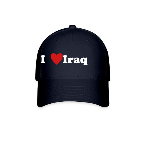I Love Iraq Hat (Blue) - Baseball Cap