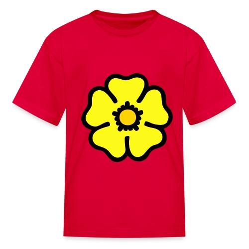 Yellow Flower - Kids' T-Shirt