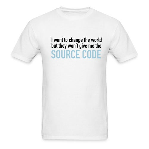 I want to Change the World - Men's T-Shirt
