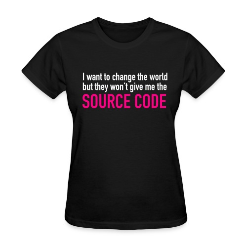 I want to Change the World - Women's T-Shirt