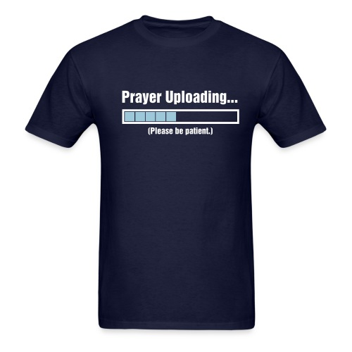 Prayer Uploading - Men's T-Shirt