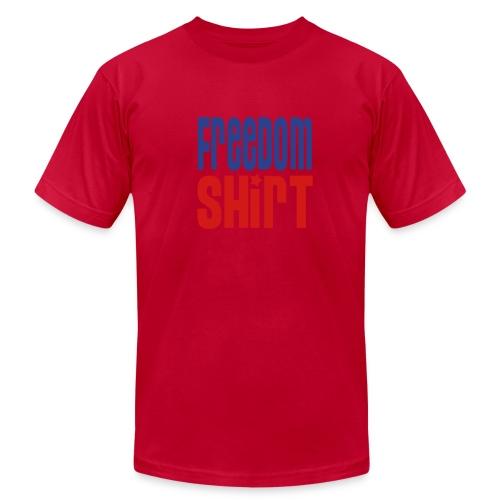 Men's Jersey Tee, FREEDOM SHIRT - Men's Fine Jersey T-Shirt